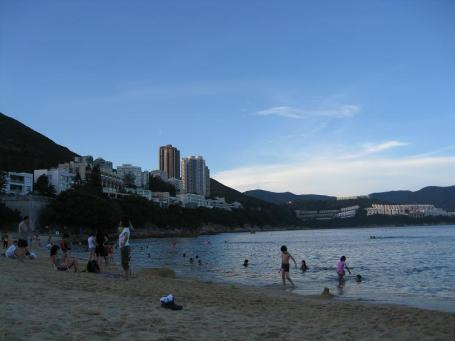 Stanley beach in HK